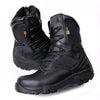 Mens Combat Military Leather Boots