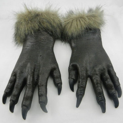 Halloween  Masks Scary Wolf With Gloves