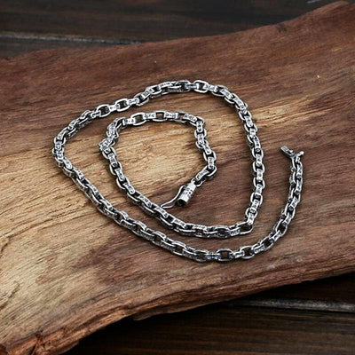 925 Sterling Silver Chain Necklace  for Men