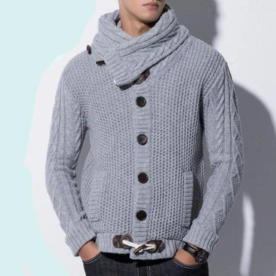 Acrylic  Knitted  Sweater for Men Turtleneck