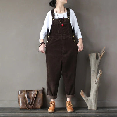 Jumpsuits  & Rompers for Women Cotton Corduroy