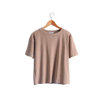 T Shirts for Women Cotton Short Sleeve
