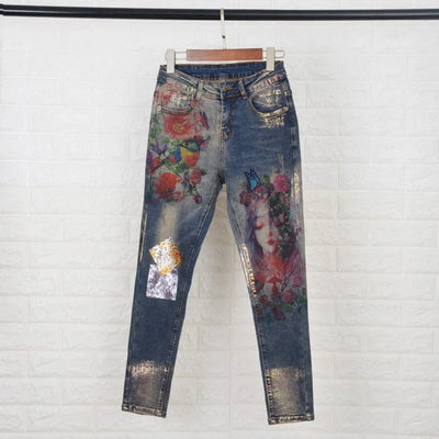 Jeans for Woman  3D Print