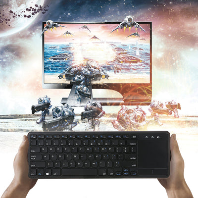 Wireless Keyboard 2.4Ghz Multi-touch Touchpad