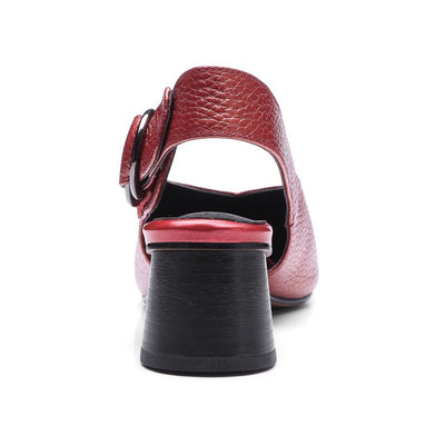 Womens  Shoes High Heels  Buckle Shallow