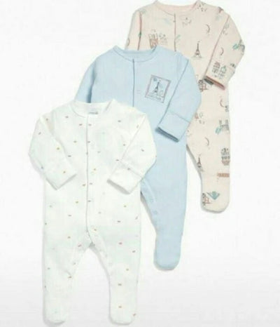 Newborn Baby Clothes Flower Set