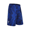 Basketball Shorts Design Wave Print Double Pocket