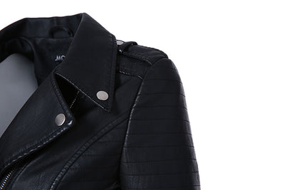 Leather Jackets for Women Classic Black Color