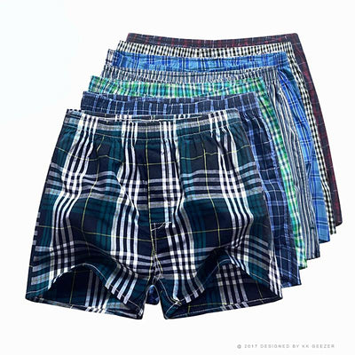 Mens Boxers Cotton  Multicolor 7pcs/lot