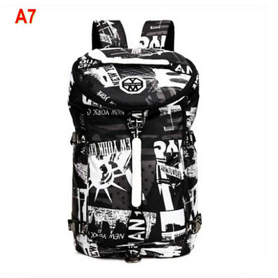 Travel Canvas Backpack for Men Women