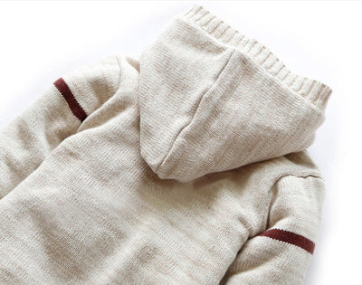 Newborn Baby Clothes Knitted  Hooded
