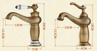 Bathroom Faucet Antique bronze