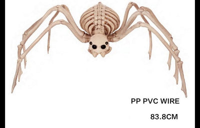 Halloween Decoration Skeleton Spider Horror