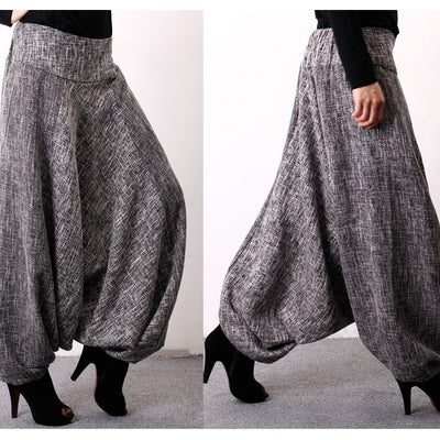 Harem  Pants Ankle Length  for Woman