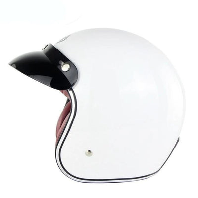 Motorcycle Helmets  Retro  Vintage  Open Face