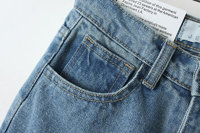Jeans for Women Vintage High Waist
