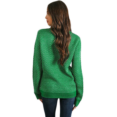 Sweaters for Women  Knitted Pullovers Reindeer Christmas Tree