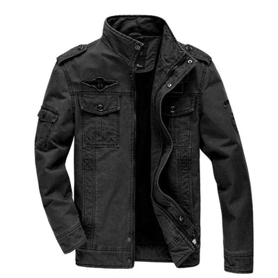 Winter Bomber Jackets for Men Plus Size