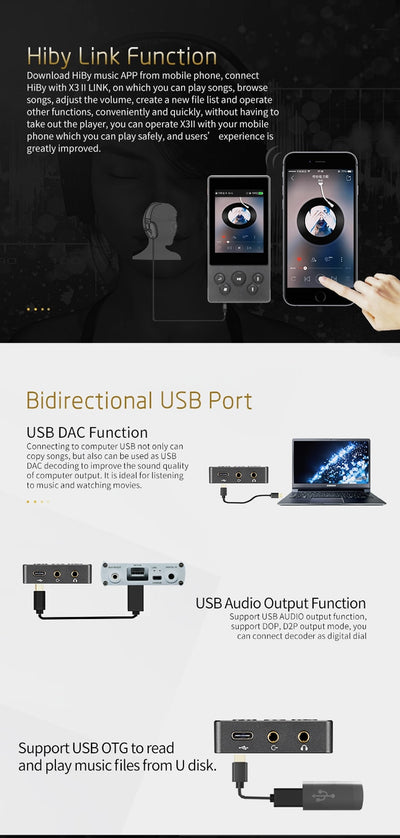 Music Player Portable MP3 USB