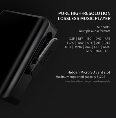 Music Player Portable  Hi-Res Audio