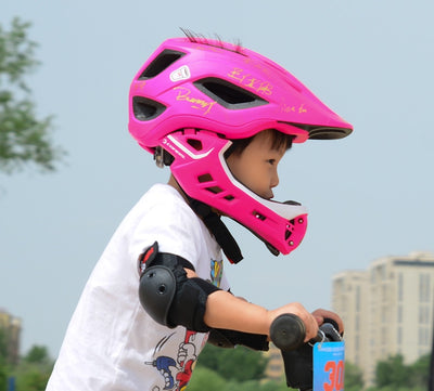 Bike  Helmets Taillight Safety  Detachable Adjustable for Kids