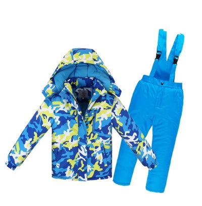 Winter  Clothes for Kids Snowsuit 2 pcs. Set Down & Parkas