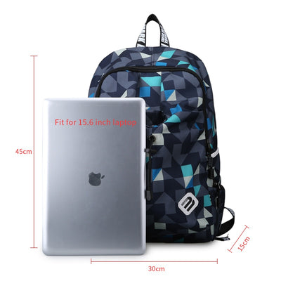 Nylon Backpacks for Men Waterproof