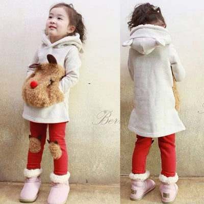 Winter Clothes  for Girls 2 PCS Set