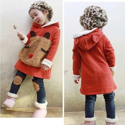 Winter Clothes for Kids  2 PCS Set Christmas Costume