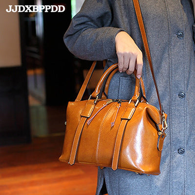 Genuine Leather Luxury  Handbags for Wonen