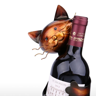 Wine Rack Cat