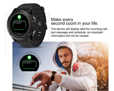 Heart Rate Monitor Smart Watch VIBE 3 HR Waterproof