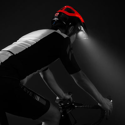 Bike Helmets  Intergrally-molded Headlamp