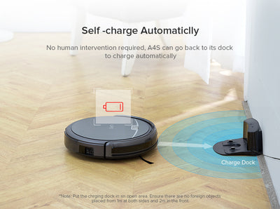 Robot Vacuum Cleaner A4s  for Thin Carpet