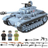 Building Blocks 716 PCS. Technik Military Tank Army City WW2 Soldier Police Weapon
