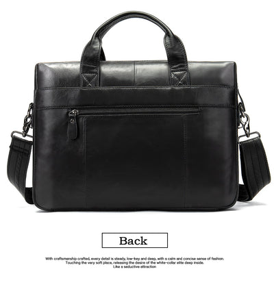 Men's Bags Business Briefcases Genuine Leather