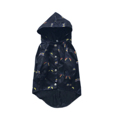 Dog Raincoat   Waterproof  Hooded