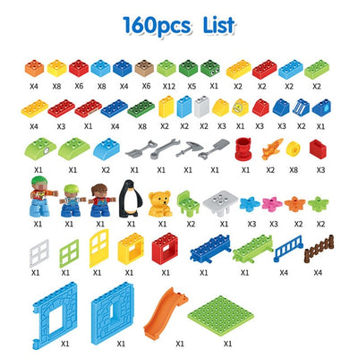 Building Blocks 160 pcs. Amusement Park
