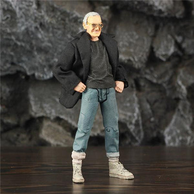 "Action Figure 6"" Stan Lee  Toys"