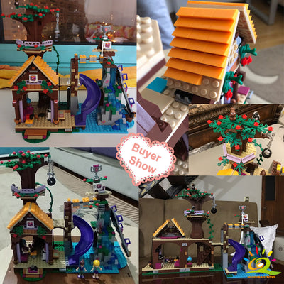 Building Blocks 739 pcs. Friends Adventure Camp Tree House