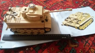 Building Blocks 995 Pcs. German King Tiger Tank