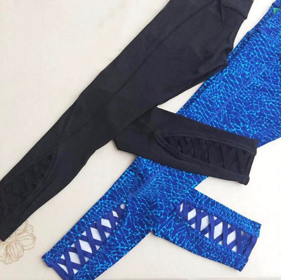 Yoga Pants for Women Crop 4-way Stretch