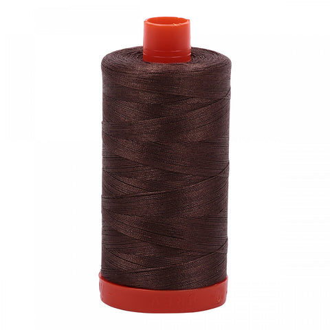 AURIFIL QUILT THREAD - 50 WT - 1422 yds #1140 Bark
