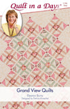 GRAND VIEW QUILTS Pattern by Quilt in a Day, Eleanor Burns, 1196 Easy