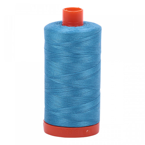 AURIFIL QUILT THREAD - 50 WT - 1422 yds #1320 Medium Teal