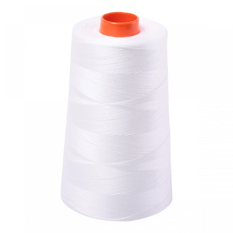 AURIFIL QUILT THREAD CONE - 50 WT - 6452 yds. #2021 Natural White