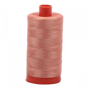 AURIFIL QUILT THREAD - 50 WT - 1422 yds #2215 Peach