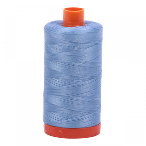 AURIFIL QUILT THREAD - 50 WT - 1422 yds #2720 Light Delft Blue