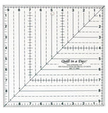 "9 1/2"" Square Up Ruler, Quilt in a Day, # 2012QD"
