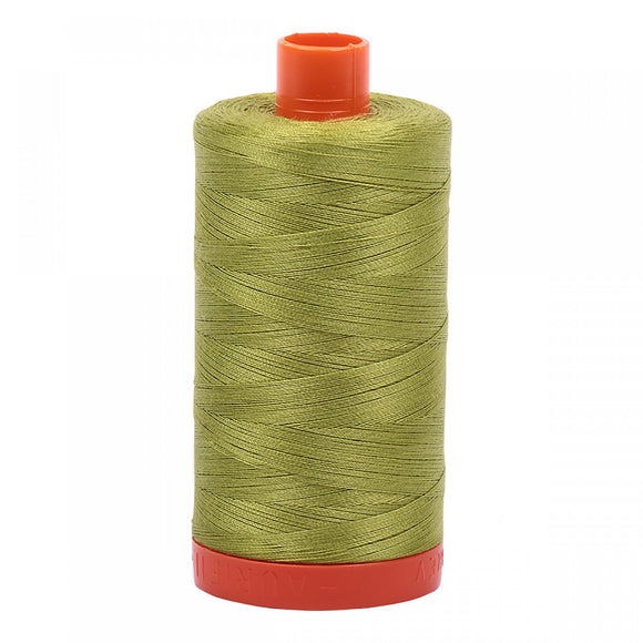 AURIFIL QUILT THREAD - 50 WT - 1422 yds #1147 Light Leaf Green